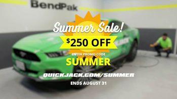 QuickJack Summer Sale TV Spot, 'Faster, Smarter and Safer'