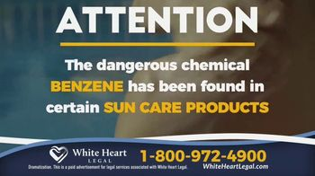 White Heart Legal TV Spot, 'Sun Care Products'