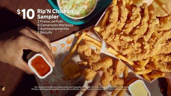Popeyes Rip'N Chicken Sampler TV Spot, '¿No sabes qué pedir?' [Spanish] - Thumbnail 5