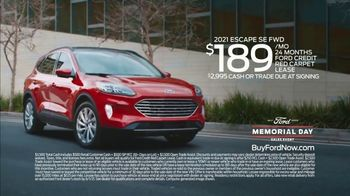 Ford Memorial Day Sales Event TV Spot, 'Fire Up the Grill' [T2] - Thumbnail 10