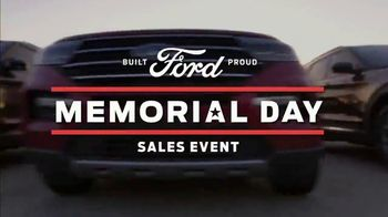 Ford Memorial Day Sales Event TV Spot, 'Fire Up the Grill' [T2] - Thumbnail 5