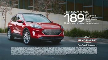 Ford Memorial Day Sales Event TV Spot, 'Fire Up the Grill' [T2] - Thumbnail 9