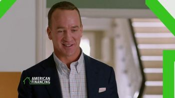 American Financing TV Spot, 'Run the Numbers' Featuring Peyton Manning - Thumbnail 10