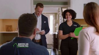 American Financing TV Spot, 'Run the Numbers' Featuring Peyton Manning - Thumbnail 4