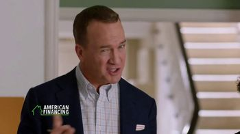 American Financing TV Spot, 'Run the Numbers' Featuring Peyton Manning - Thumbnail 5