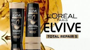 L'Oreal Paris Hair Care Elvive Total Repair 5 TV Spot, 'Nada repara mejor' [Spanish] - Thumbnail 2