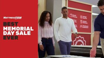 Mattress Firm Best Memorial Day Sale Ever TV Spot, 'Early Access'