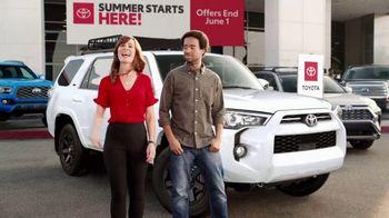 Toyota Summer Starts Here TV Spot, 'Flying Disc' [T1] - Thumbnail 6
