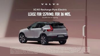 2021 Volvo XC40 Recharge TV Spot, 'Pure Electric' Song by New Order [T2] - Thumbnail 8