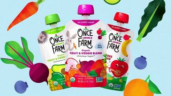 Once Upon a Farm TV Spot, 'Cold-Pressed Blends for Babies to Big Kids'