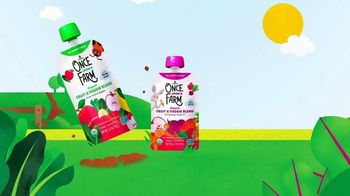 Once Upon a Farm TV Spot, 'Cold-Pressed Blends for Babies to Big Kids' - Thumbnail 6