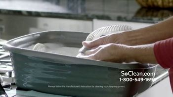 SoClean 2 TV Spot, 'Dinner Table Sneezing: Save $100' - Thumbnail 4