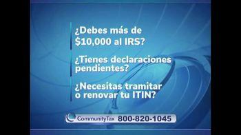 Community Tax TV Spot, 'Empezar desde cero' con Julio César Chavez [Spanish] - Thumbnail 4