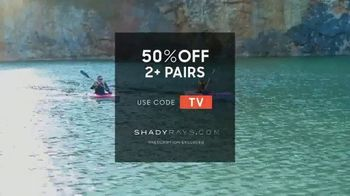 Shady Rays TV Spot, 'Fraction of Big Brand Prices: 50% off Two' - Thumbnail 9