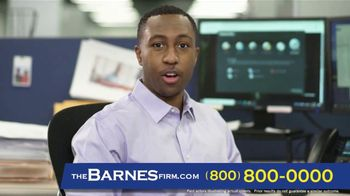 The Barnes Firm TV Spot, 'Son's Accident'