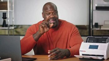 Epson RapidReceipt Scanner TV Spot, 'Lost Remote' Featuring Shaquille O'Neal - Thumbnail 9