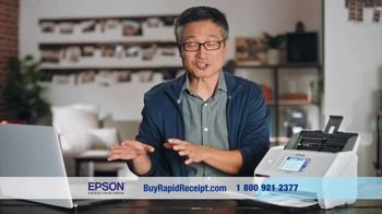 Epson RapidReceipt Scanner TV Spot, 'Lost Remote' Featuring Shaquille O'Neal - Thumbnail 6
