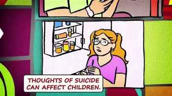 National Suicide Prevention Lifeline TV Spot, 'Medicine Safety: Children' - Thumbnail 2