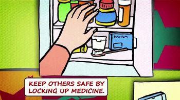 National Suicide Prevention Lifeline TV Spot, 'Medicine Safety: Children' - Thumbnail 4
