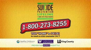 National Suicide Prevention Lifeline TV Spot, 'Medicine Safety: Children' - Thumbnail 7