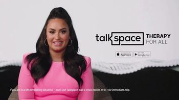 Talkspace TV Spot, 'More Important Than Ever: $100' Featuring Demi Lovato - Thumbnail 10