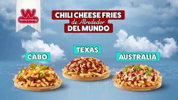 Wienerschnitzel Chili Cheese Fries TV Spot, 'Chili Cheese Fries de alrededor del mundo' [Spanish] - Thumbnail 2