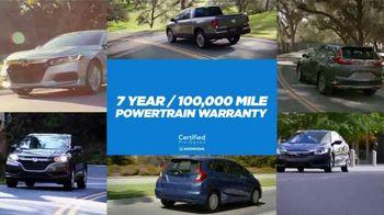 Honda Certified Pre-Owned TV Spot, 'Honda Has' [T2] - Thumbnail 2