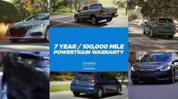 Honda Certified Pre-Owned TV Spot, 'Honda Has' [T2] - Thumbnail 3