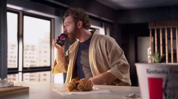 Pepsi Zero Sugar TV Spot, 'Better With Pepsi: Fried Chicken'