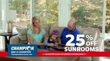 Champion Windows TV Spot, 'Sunroom: Enjoy Even More Space: 25%' - Thumbnail 6