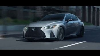 2021 Lexus IS TV Spot, 'Vanity Plates' Song by Ebo Taylor, Jr. [T1] - Thumbnail 7