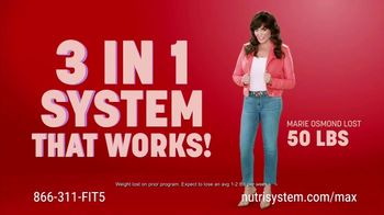 Nutrisystem Uniquely Yours Max TV Spot, 'So Much More Than a Meal Plan' Featuring Marie Osmond - Thumbnail 2