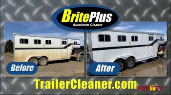Dakota AG Innovations BritePlus Aluminum Cleaner TV Spot, 'Safely Clean Trailers'