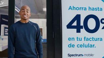 Spectrum Mobile TV Spot, 'Ahorra hasta 40%: plan de datos ilimitados: $45 dólares' con Ozuna [Spanish]