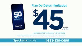 Spectrum Mobile TV Spot, 'Ahorra hasta 40%: plan de datos ilimitados: $45 dólares' con Ozuna [Spanish] - Thumbnail 10