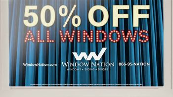 Window Nation TV Spot, 'Talking Windows: Did You Know: 50% Off' - Thumbnail 8