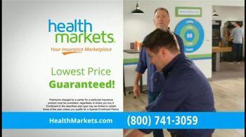 HealthMarkets Insurance Agency TV Spot, 'American Rescue Plan'