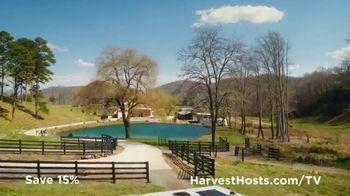 Harvest Hosts TV Spot, 'Unique Camping Experiences: 15% Off'