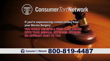 Consumer Tort Network TV Spot, 'Hernia Surgery' - Thumbnail 5