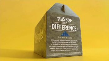 Bojangles Camo Big Bo Box TV Spot, 'Supporting Military Families' - Thumbnail 4