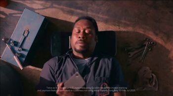 QuickBooks TV Spot, 'Payments Go Big: Face Car Mechanic' Song by Meghan Trainor - Thumbnail 10