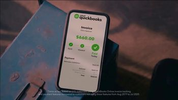 QuickBooks TV Spot, 'Payments Go Big: Face Car Mechanic' Song by Meghan Trainor - Thumbnail 8