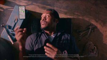QuickBooks TV Spot, 'Payments Go Big: Face Car Mechanic' Song by Meghan Trainor - Thumbnail 9
