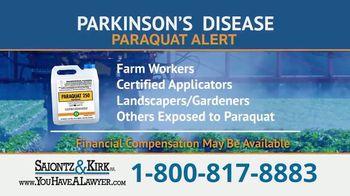 Saiontz & Kirk, P.A. TV Spot, 'Parkinson's Disease Lawsuit: Paraquat Herbicide'