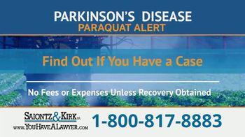 Saiontz & Kirk, P.A. TV Spot, 'Parkinson's Disease Lawsuit: Paraquat Herbicide' - Thumbnail 6