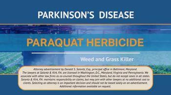 Saiontz & Kirk, P.A. TV Spot, 'Parkinson's Disease Lawsuit: Paraquat Herbicide' - Thumbnail 1
