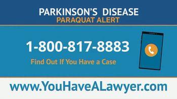 Saiontz & Kirk, P.A. TV Spot, 'Parkinson's Disease Lawsuit: Paraquat Herbicide' - Thumbnail 2