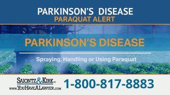 Saiontz & Kirk, P.A. TV Spot, 'Parkinson's Disease Lawsuit: Paraquat Herbicide' - Thumbnail 3