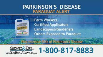 Saiontz & Kirk, P.A. TV Spot, 'Parkinson's Disease Lawsuit: Paraquat Herbicide' - Thumbnail 5