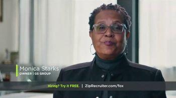 ZipRecruiter TV Spot, 'Monica: Results'